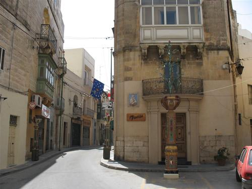Seitengasse in Rabat.