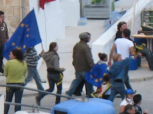 Malta feiert mit der EU