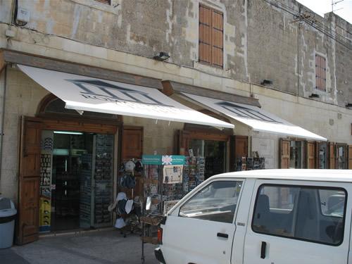 Souvenir-Laden in Rabat.