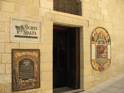 The Knights of Malta in Mdina, Malta.