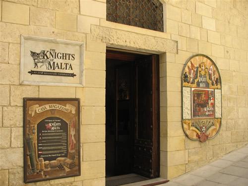 The Knights of Malta in Mdina, Malta.