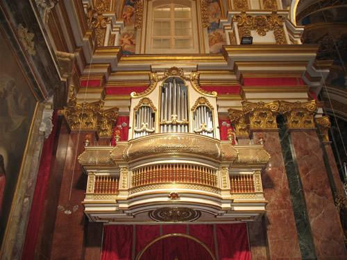 Orgel in der Kathedrale.