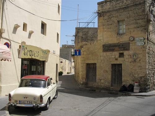 Typische Dorfidylle auf Malta.