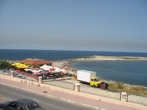 Küstenlinie von Qwara