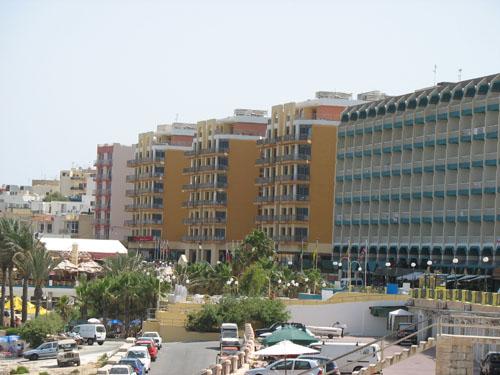 Hotellandschaft in Qwara