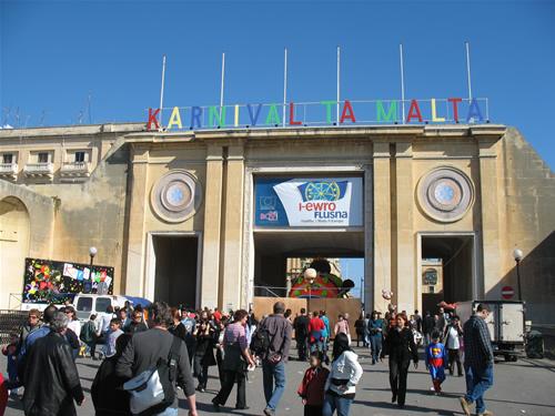 Eingangstor zu Valletta