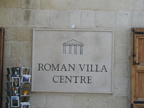 Roman Villa Centre - die römische Villa auf Malta.