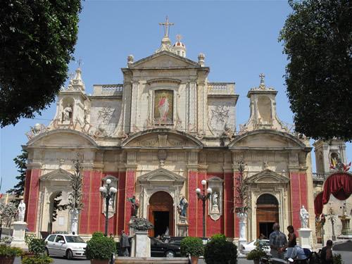 Prächtige Kirche in Rabat.
