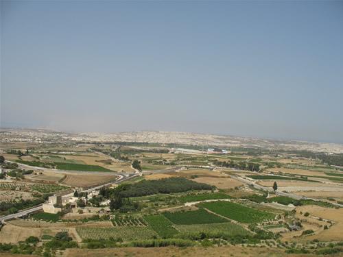 Blick über Malta.