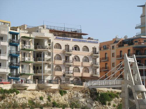 Neubauten in Bugibba