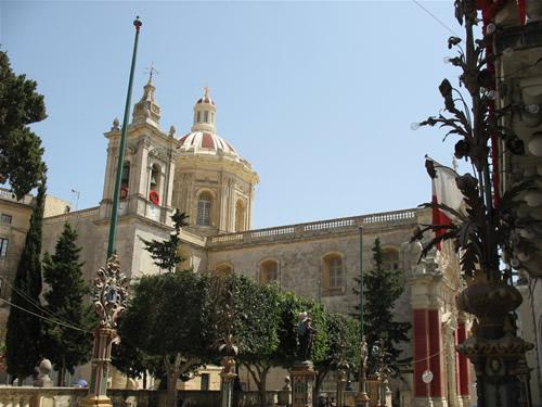 Kirche in Rabat.