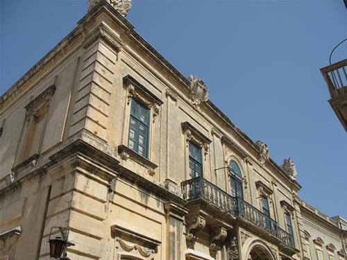 Altes Wohnhaus in Mdina.