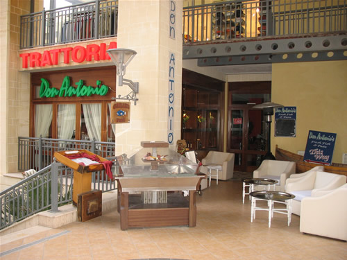Don Antonio - ein Restaurant für Fisch und Pasta.