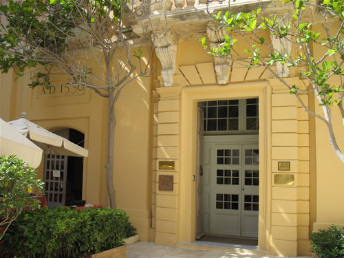 5* Hotel in Mdina.