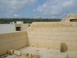 Dachwohnung im Rohbau - Gozo