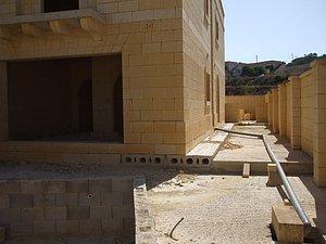 Villa in Xlendi - Rohbau