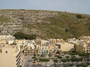 Ausblick über Xlendi
