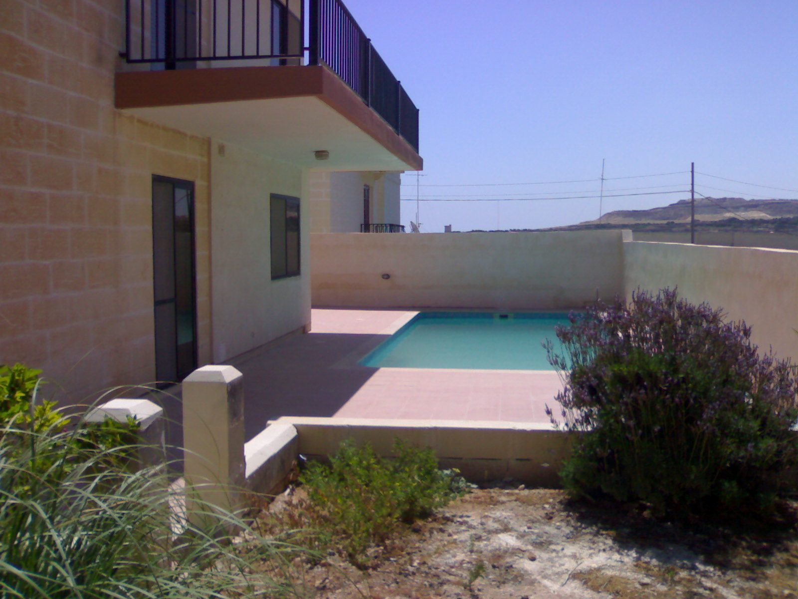 Swimming Pool mit Garten