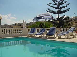 Ferienwohnung mit Pool in Malta