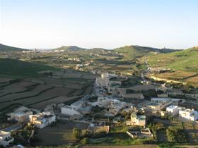 Aussicht über Gozo
