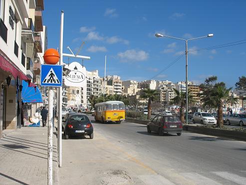 The Strand in Sliema, Malta