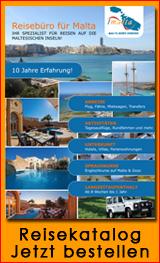 Reisebüro für Malta