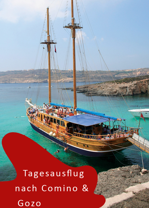 Tagesausflug nach Gozo und Comino